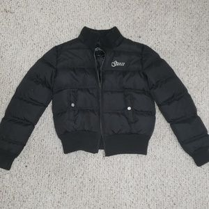 Black Guess puffer jacket